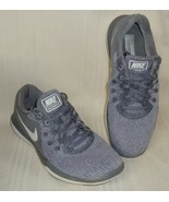 Nike Flex Supreme TR6 Gray Running Sneakers Shoes Women Size 9 Used 909... - $29.69