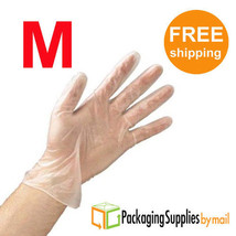 30000 Polyethylene Clear Food Service Disposable Gloves Safety Food Grade M - $177.79