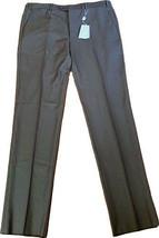 NWT GIORGIO ARMANI Collezioni US-40  IT-56 pants slacks trousers un-hemmed - $251.23