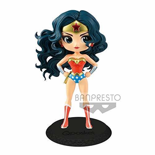 Bandai - Figurine DC Wonder Woman Movie - Wonder Woman Pastel Color Q Posket 15c - $31.67