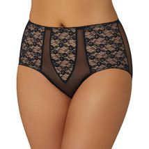 Dita Von Teese Exquisite Floral Lace Sheer Witchery Full Brief D15954, B... - $19.79