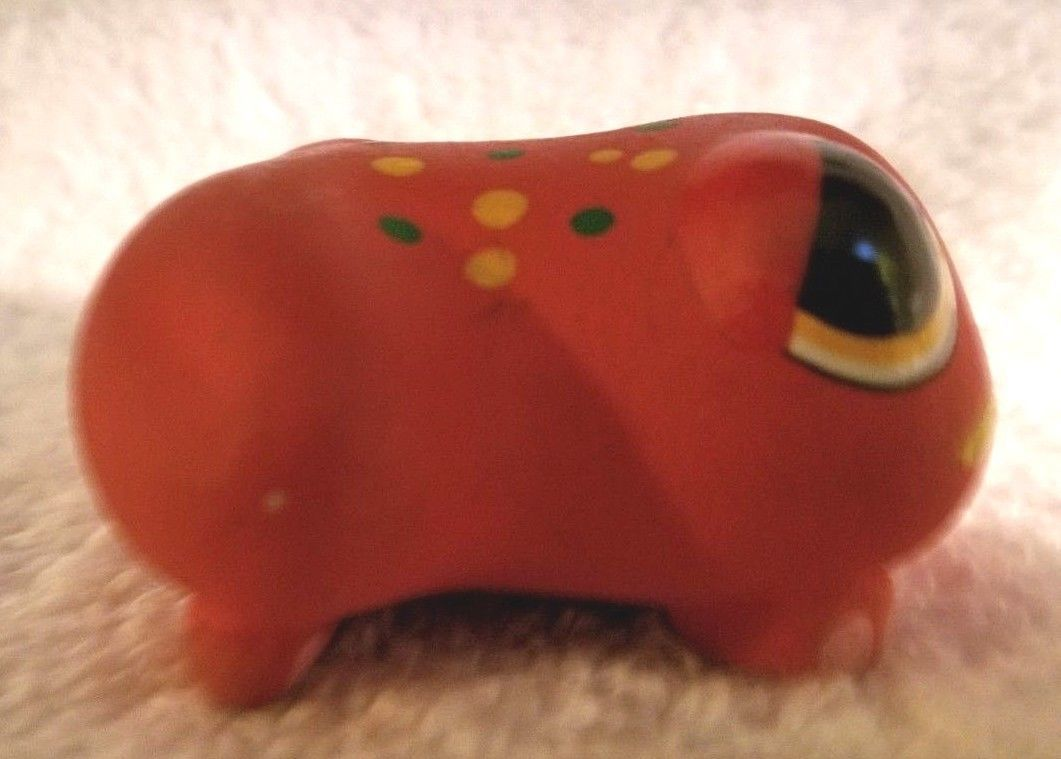 Gloria A Dios Ceramic Frog Figurine Hand Painted Signed Costa Rica ADORABLE! image 4