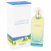 Hermes Un Jardin En Mediterranee Perfume 3.4 Oz Eau De Toilette Spray image 3