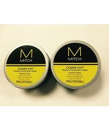 Paul Mitchell Clean Cut Medium Hold Semi-Matte Styling Cream 3oz, 2 Pack - $20.57