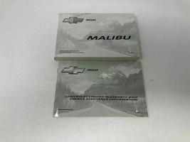 2010 Chevy Malibu Owners Manual Handbook Set OEM Z0A0886 - $23.75