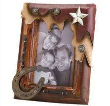 Western Cowboy Style Picture Frame 4x6  - $18.99