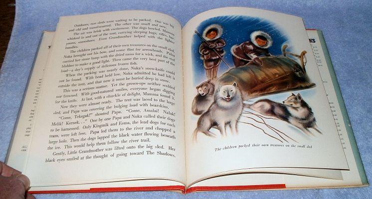 Their First Igloo Vintage Childrens Book by Barbara True 1943 HC DJ