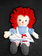 """Raggedy Ann 18"""" Doll Plush With Dress and Pinafore - $16.33"""