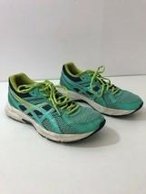 ASICS  Womens 7M Gel Contend 3 Leather Upper Aqua Running Sneakers T5F9N - $29.95