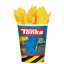 Tonka Toys Truck Construction 9 oz Paper Cups Birthday Party Supplies 8 ... - $4.21