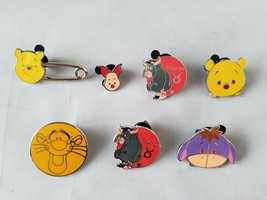 Disney Trading Pins Official Tigger Winnie The Pooh Collectible Lot of 7 - $18.59