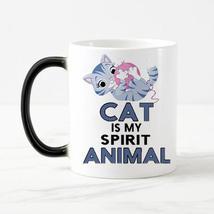 """Cat is My Spirit Animal""  Ceramic Coffee Mug - $24.99"