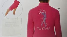Mondor Model 24488 Polartec Skating jacket With Sequin Applique Super Pink 10-12 - $110.00