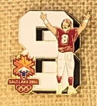 2002 Salt Lake Utah Winter Olympics Collectors Pin Featuring Steve Young - $19.01
