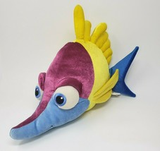 "16 "" Disney Magasin Finding Nemo Tad Bleu Jaune Poisson Animal en Peluche Pixar - $27.85"