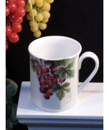 Royal Doulton Vintage Grape Mug, Everday Dinnerware, Porcelain, Grape Pa... - $24.99