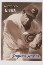 1998 Fleer / SI Legends Fergie Jenkins card, Chicago Cubs HOF - $0.99