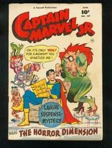 CAPTAIN MARVEL JR #107 1952-HORROR ISSUE-MONSTER COVER-FAWCETT-vg/fn VG/FN - $107.19