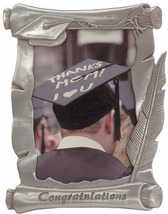 Pewter Graduation Picture Frame 4x6  - $11.99