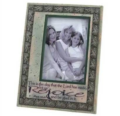 Primary image for Rejoice Inspirational Picture Frame 5x7