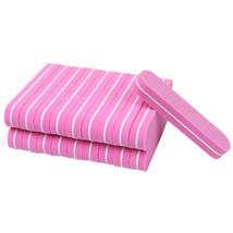 Pink Sanding Sponge Nail Buffers Files Block Grinding UV Gel 100Pcs/set ... - $26.46