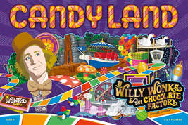 Candy Land Willy Wonka & the Chocolate Factory Limited Edition Board Game Sealed image 1