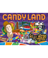 Candy Land Willy Wonka & the Chocolate Factory Limited Edition Board Gam... - $39.95