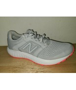 New Balance Womens 520 V5 W520LS5 Gray Running Shoes Lace Up Low Top Siz... - $54.44