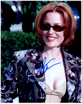 GILLIAN ANDERSON Signed Autographed Photo w/ Certificate of Authenticity  - $65.00