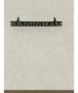 Vintage Nameplate Ford Mercury Brougham Metal Emblem d3ab-6550400-aa OEM... - $10.00