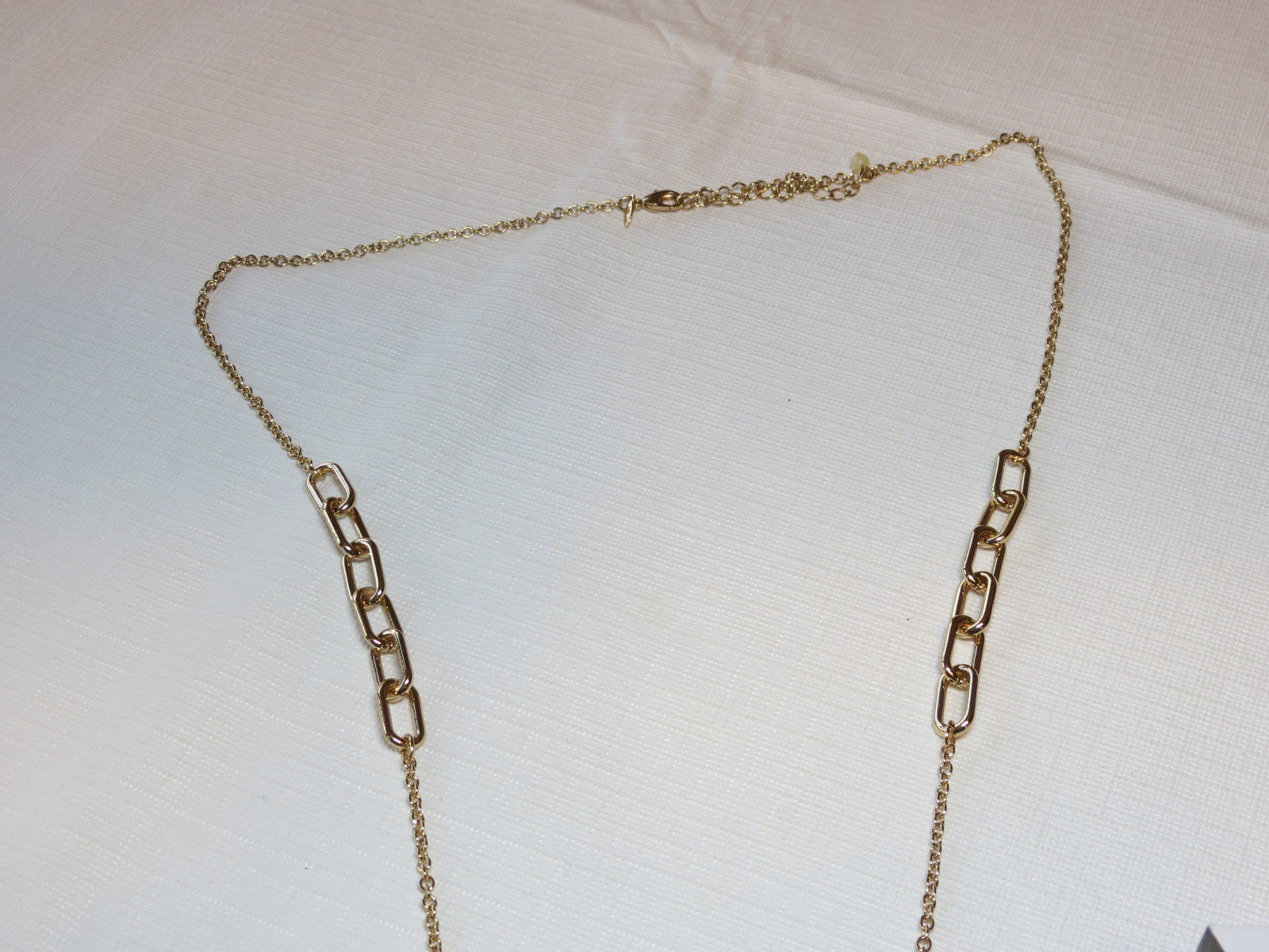 "Ladies Womens Avon Sparkling Links Long Necklace 36"" +3"" ext  F3948691 NIP;;"