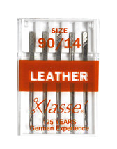 Klasse' Sewing Machine Leather Needle Size 90/14 - $4.04
