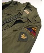 1962 Vietnam War US M1951 Sateen Field Coat Jacket 3rd Cavalry Spearhead... - $84.14