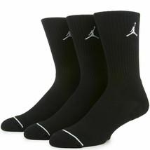 NWT Jordan Jumpman EVERYDAY MAX CREW Socks SX5545-013 Size L(8-12) 3-Pack - $17.99