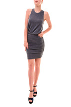 Sundry Women's Fitted Sleeveless Tank Dress Navy Size US 1 RRP $139 BCF77 - $81.49