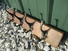Rustic Coat Rack, Reclaimed Wood, Entryway Coat Hooks, Wall Mount o,  - $84.00