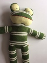 Dan Dee Green Frog Collectors Choice Save Our Earth Plush Stuffed Animal Toy Vtg - $21.29