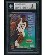 1997-98 Z-Force Rave Dominique Wilkins Spurs BGS 9 /399 - $150.00