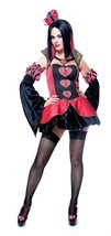 Queen Of Broken Hearts Small  Costume - $18.31