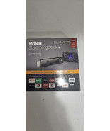 Roku Streaming Stick Plus 3810R 4K Streaming Media Player Voice Remote B... - $44.99