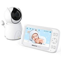 Dragon Touch DT50 5 Inch Wireless Digital Video Baby Monitor, Auto-Motion - $116.09