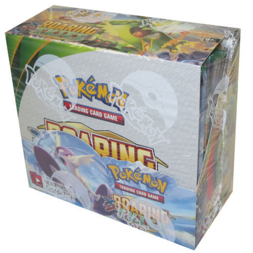 POKEMON Roaring Skies Booster Box New Factory Sealed English Pokemon TCG Packs
