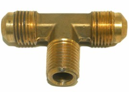 """Big A Service Line 3-145640 Brass Pipe, Flare Tee Fitting 3/8 X 3/8 X 1/8"""" - $12.75"""