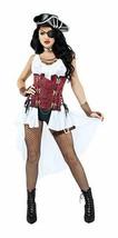 Starline Alto Seas Miele Pirata Sexy Adulto Donna Halloween Costume S9009 - $62.22