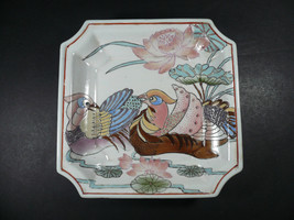DECORATIVE DYNASTY TRAY PLATE HEYGILL & H.F.P.  MACAU HAND PAINTED IN CHINA - $10.00