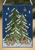 Forest Tree Festival of Trees 2010 charmed ornament beaded kit Mill Hill - $6.30