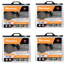 Autosock AL111-4 Snow Sock Set 445/50/R22.5 Super Single Snow and Ice - $894.96