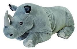 Wild Republic Jumbo Rhino Plush, Giant Stuffed Animal, Plush Toy, Gifts ... - $64.96
