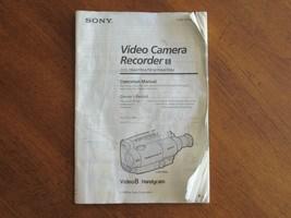 OEM Sony Operational Manual CCD TR44/TR54/TR74/TR84/TR94 Video 8 Handycam 1995 - $12.99