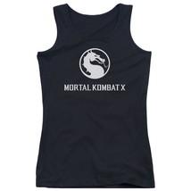 Mortal Kombat X - Dragon Logo Juniors Tank Top Officially Licensed Apparel - $19.99+